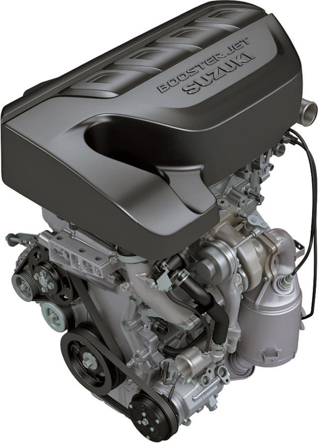 画像: 136psと210Nmを発生する1.4Lターボエンジン。