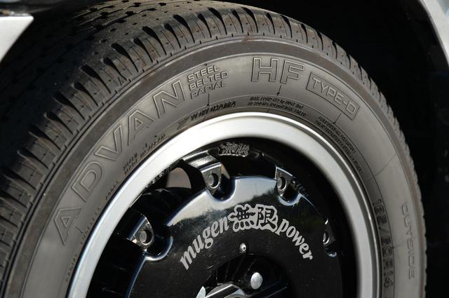 画像: ヨコハマタイヤの「アドバンHFタイプD」。サイズは185/60R14だ。