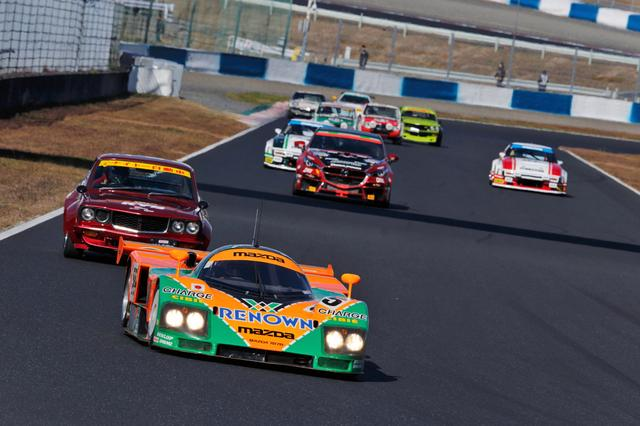 画像: 1991年のル・マン24時間レースで優勝したマツダ787Bは寺田陽次郎氏がドライブ。