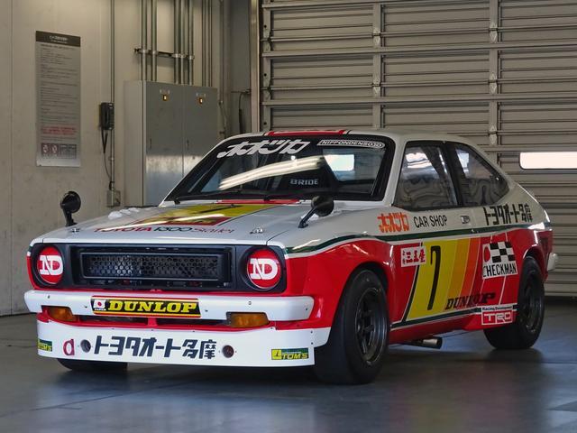 画像: 1973年にレースデビューしたDOHCスターレットを、トムスが2018年に完全復元した。ボディのベースは市販車だ。