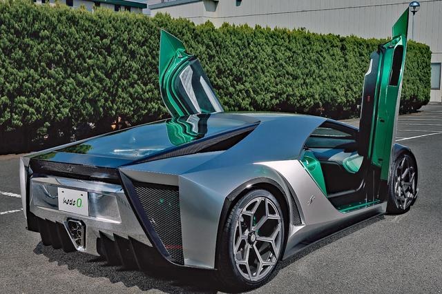 画像: 公表はしていないが、ベース車はランボルギーニ・アヴェンタドールのようだ.