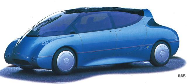 画像: すでに1993年にはシリーズハイブリッドのコンセプトカー「ESR」を発表していた。ちなみにESRとは、エコロジカル・サイエンス・リサーチの頭文字。