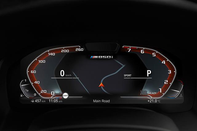 画像: 12.3インチディスプレイのフルデジタルメーターメーターを採用。中央にはナビゲーションなどの情報を表示。