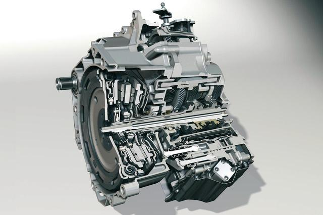 画像: フォルクスワーゲンの6速DSG(DCT)のカットモデル。