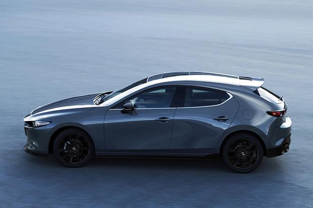 画像: 新型マツダ 3 カスタムスタイル(北米仕様車)
