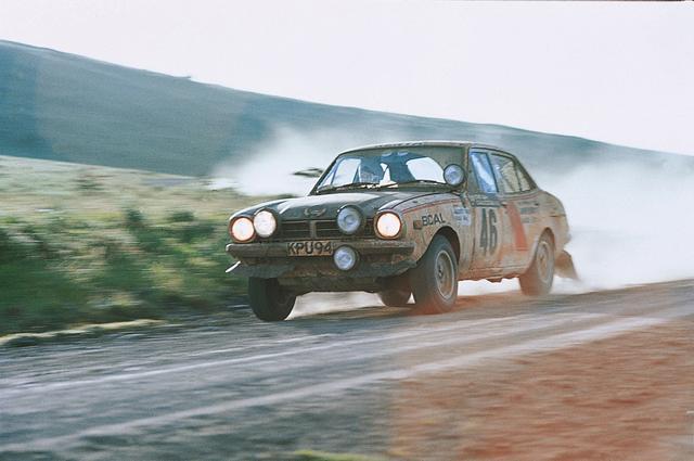 画像: 1974年、サファリラリーに出場。ジョギンダ・シンのドライビングで総合優勝を飾る。