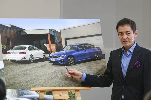 画像: 永島譲二氏。BMW AG BMWデザイン部門 エクステリア クリエイティブ ディレクター。1955年東京生まれ。武蔵野芸術大学工業デザイン学科卒業、ミシガン州ウェイン州立大学デザイン修士課程修了、オペル、ルノーを経て、88年BMWグループデザイン部門に。Z3(E36)、5シリーズ(E39)、3シリーズ(E90)他、多くの生産車やコンセプトカーのデザイン開発に関わる。