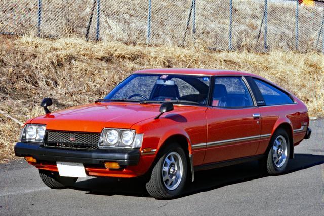 画像: ベース車のRA40 2代目セリカ2000GT。ラリーには写真のリフトバックではなくクーペで参戦。