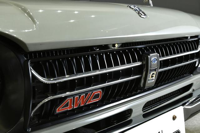 画像: エンジンを縦置きする前輪駆動(FF)を基本としていたため「ff-1」という車名となったのに、ここから4WDモデルが誕生したのはなんとも皮肉。