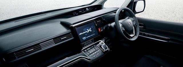 画像: STEP WGN HYBRID Modulo X Honda SENSINGのコクピット。