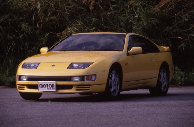 """画像: """"スポーツカーに乗ろうと思う""""というキャッチコピーとともに登場。日本の乗用車として初めて自主規制枠いっぱいの最高出力280psのエンジン(VG30DETT)を搭載した。"""