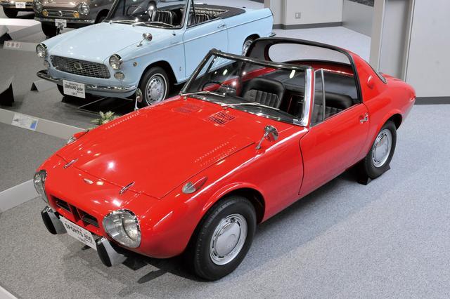 画像: トヨタ スポーツ800 (UP15型)