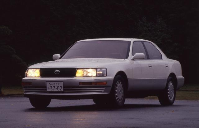 画像: バブル絶頂期を象徴するモデルのひとつがこの初代セルシオだろう。あらゆる面でそれまでの国産車のレベルを大きく上回る出来映えだった。このときアメリカではレクサスブランドが立ち上げられたのはご存じのとおりだ。