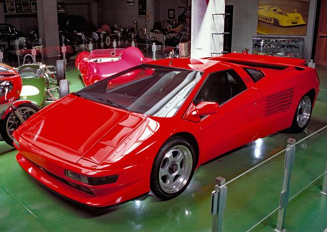 画像: 日本では河口湖自動車博物館に1台、チゼータ V16Tが展示されている。