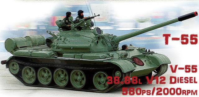 画像: 旧ソ連や第三世界では「クルマは運転できないが、戦車なら運転できる」と言わしめたT-34とT-55。このT-55は10万両も生産され、今も紛争地で見かける。
