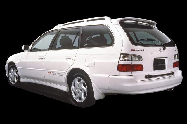 画像: 外観はおとなしいワゴンながら、加速はハンパなかった(写真はマイナーチェンジ後の最終モデル)。