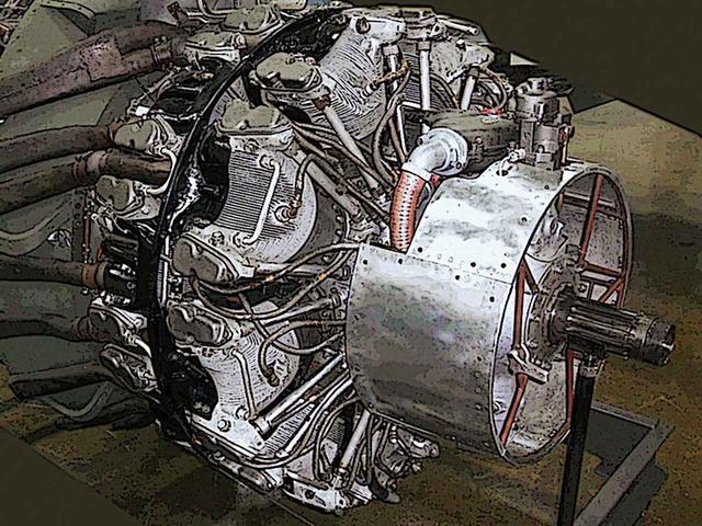 画像: ゼロ戦の後継機としては川西・紫電改と誉エンジンの方が有名かもしれないが、陸軍の疾風と共有されたハ45。実は栄の14気筒を18気筒にした進化型。小径で高回転・高出力がウリだったが…。
