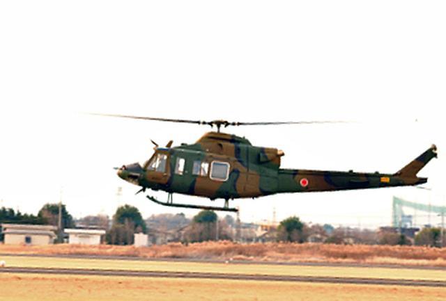 画像: 飛行試験中の試作機