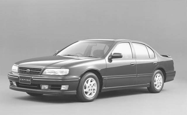 画像: 2代目となるA32型セフィーロは初代のFRからFFレイアウトとなった。全幅1770mm、全長4760mmの堂々としたボディで、新開発のV6、VQエンジンを搭載したこともトピックで、人気モデルとなった。