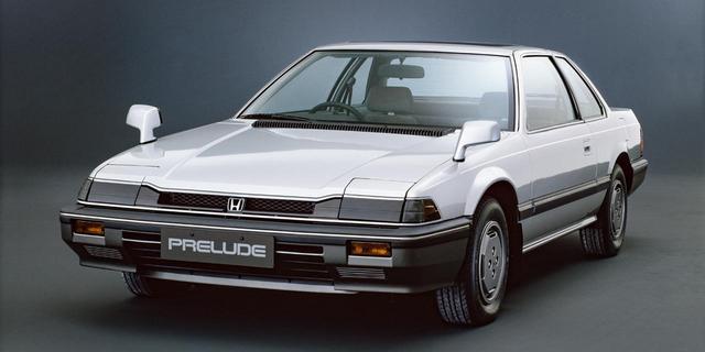 画像: 1982年にデビューした2代目プレリュード。画像のグレードは最上級の「XX」。