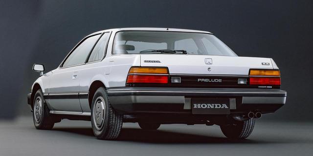 画像: 1982年にデビューした2代目プレリュード。4輪にABSを採用する初の日本車となった。