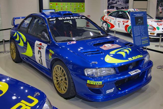画像: スバル・インプレッサ 555 WRC98(1998年式)