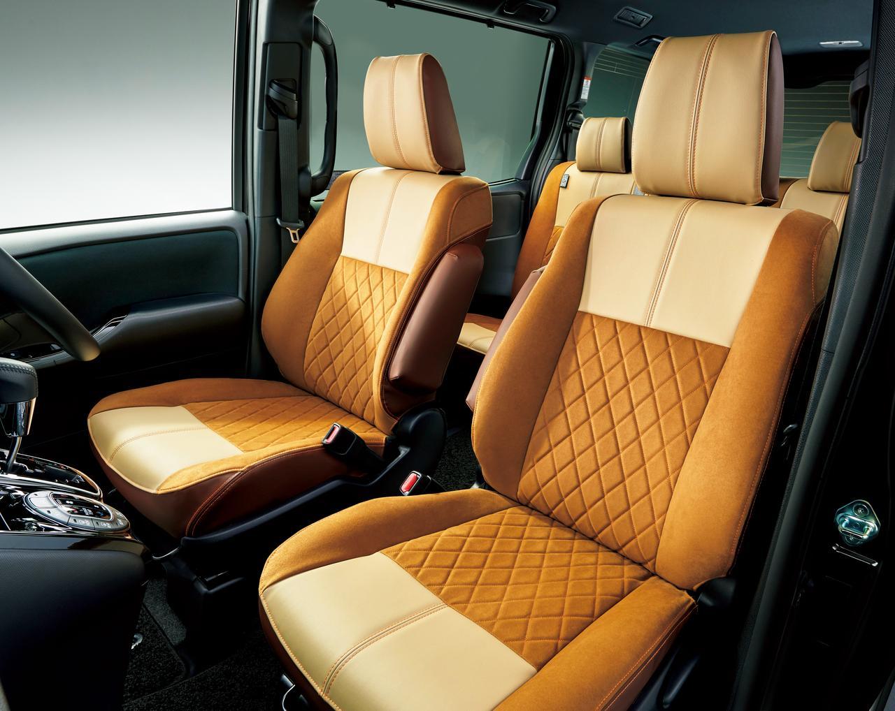 画像: 専用のシートカバーはオプション。