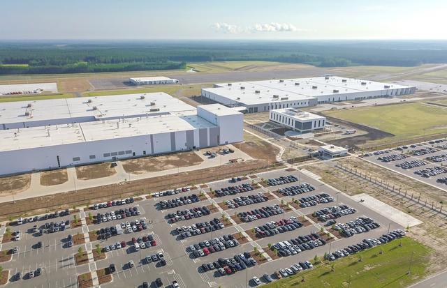 画像: 2018年6月に完成したアメリカ・サウスカロライナ州のチャールストン工場。これで欧州、中国、アメリカと三大市場で工場を持つことになった。