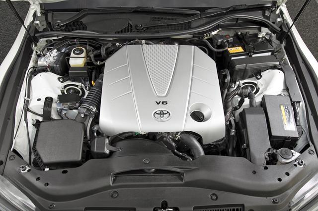 画像: 3.5Lの自然吸気V6エンジンは、318psと380Nmを発生する。