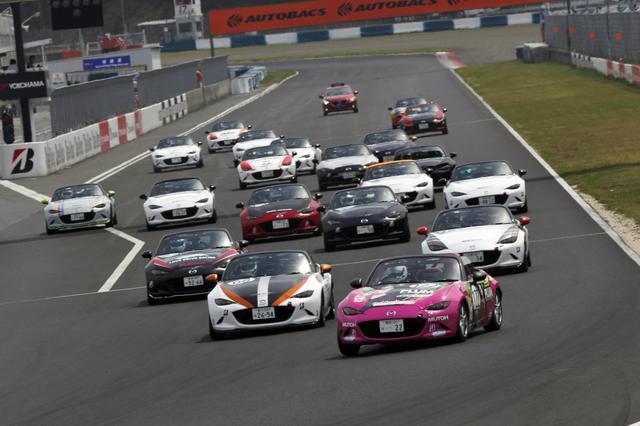 画像: 西日本シリーズは岡山国際サーキットで開催。