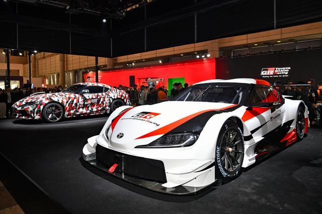 画像: 東京オートサロンの会場ではモザイク塗装が施されたプロトタイプも展示されていた。