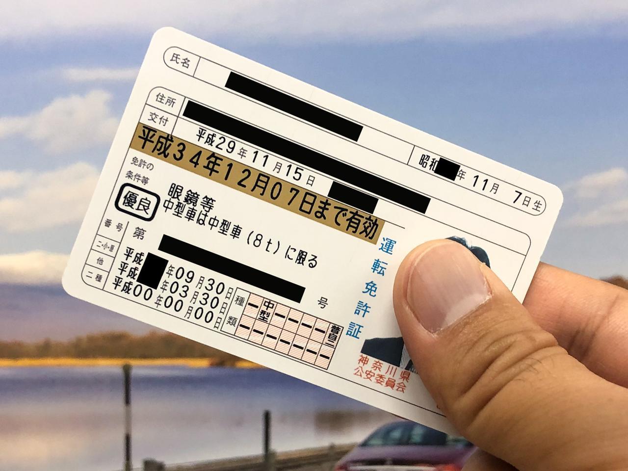 番号 意味 証 免許