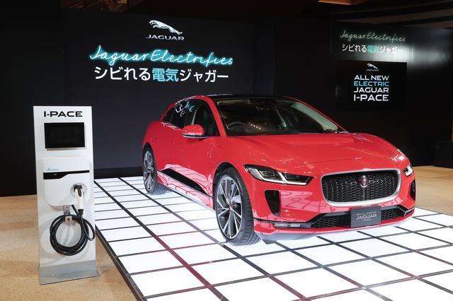 画像: ジャガー初のピュアEVとして登場したIペイス。2018年9月より、すでに日本で予約受付が時開始されているが、いよいよデリバリーが開始される。前後輪を駆動するふたつのモーターの合計出力は400ps。0→100km/h加速は4.8秒と俊足。その走りはスポーツカーも顔負けだ。