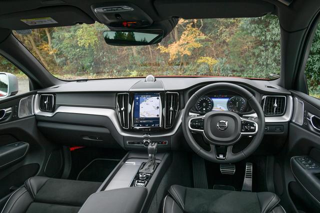 画像: 中央の縦型9インチのタッチスクリーンはボルボのアイコンとなっている。