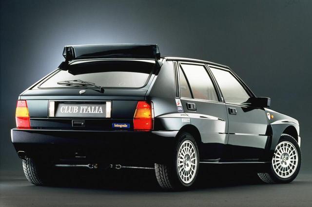 画像2: 1992年式のランチア デルタ HF インテグラーレ エボリューション。