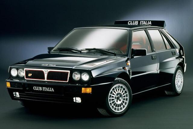 画像1: 1992年式のランチア デルタ HF インテグラーレ エボリューション。