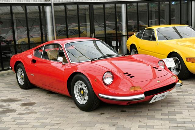 画像: フェラーリ ディノ 246GT (1972年)