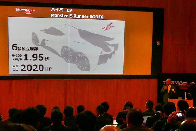 画像: 「モンスター E-ランナー Kode6」にエリーカの技術が投入されているか、まだわからない。2019年夏の正式発表に期待だ。