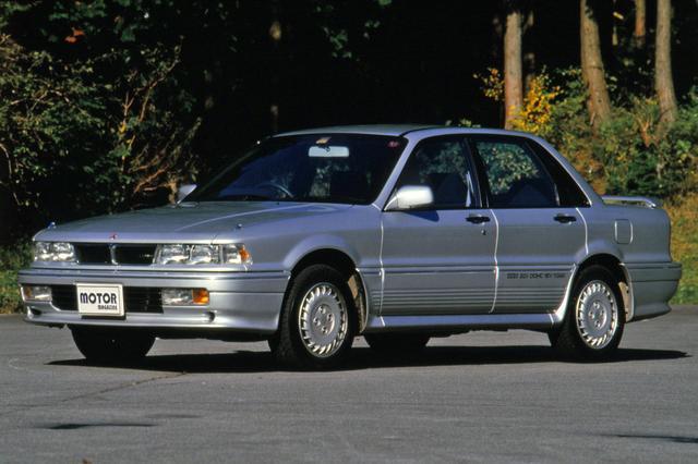 画像: 1987年、フルタイム4WDのギャランVR-4が発売された。WRC制覇を目指したランエボの誕生のきっかけとなった。