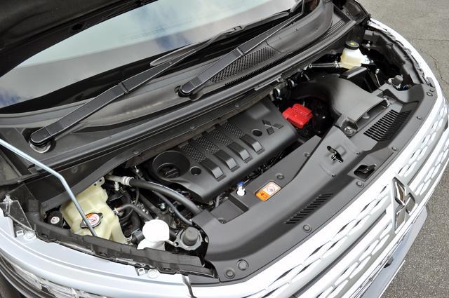 画像: フリクションの低減、燃焼室の変更、新インジェクターの搭載などの改良で、従来型より最大トルクを20Nmアップしている。
