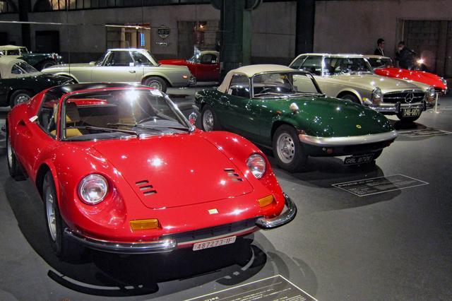 画像: 現在、ヒストリーガレージの2階では「昭和の外国製スポーツカー」を展示中。こちらも、お見逃しなく!