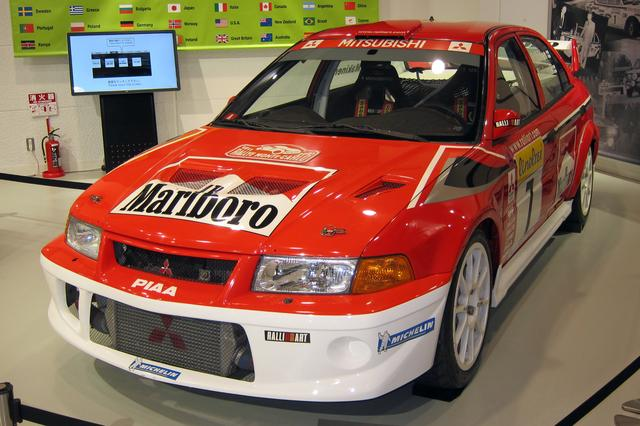画像: ランエボは最終的にエボXまで作られるが、WRCにワークス参戦したのは、このエボVIが最後だ、