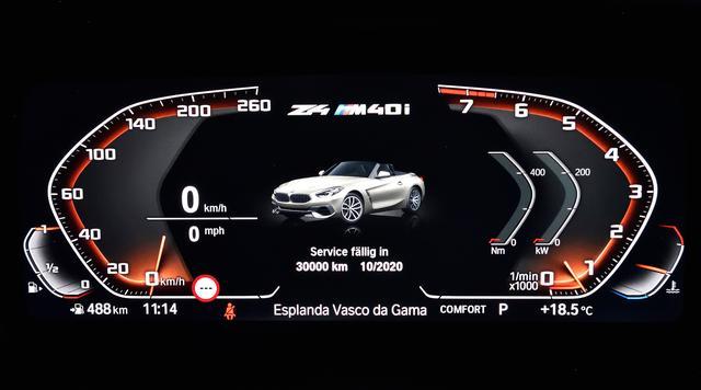 画像: メーターパネルとセンターコンソールにディスプレイを装備し、最新の「BMWオペレーティングシステム7.0」を搭載する。