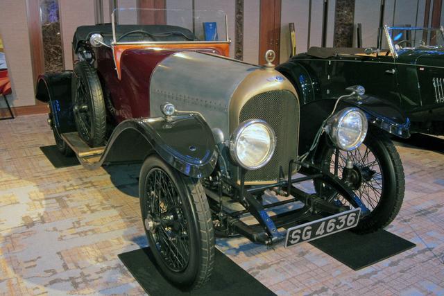 画像: ベントレー最初のモデル、1921年式「3リッター」(車両提供:ワク井ミュージアム)