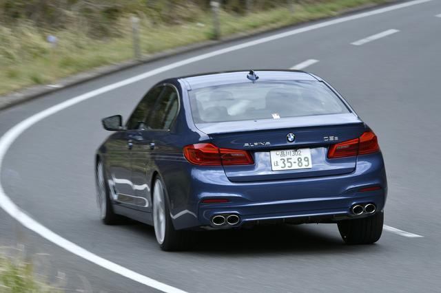 画像: BMWアルピナD5 S ビターボ アルラッドは、アルピナブランドとしては初の4WDディーゼルモデル。快適性へのこだわりは半端ない。