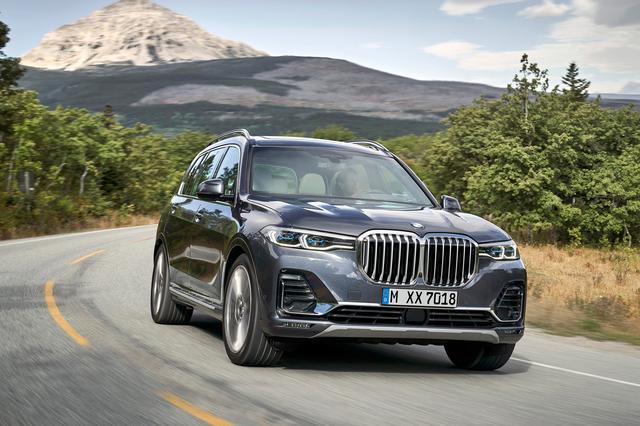 画像: BMW X7。BMWもついにこのセグメントに参入。これまでBMWにラインナップされていなかったのが不思議。