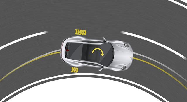 画像: ポルシェトルクベクトリングPlusは、エンジントルクを左右に可変配分、状況に応じてホイールにブレーキもかける。