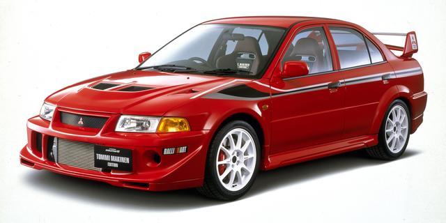 画像: 1999年12月に発売された特別仕様車「トミー・マキネン エディション」。ランエボVIを舗装路向けに走行性能を特化させ、内外観のドレスアップでWRCを彷彿とさせている。
