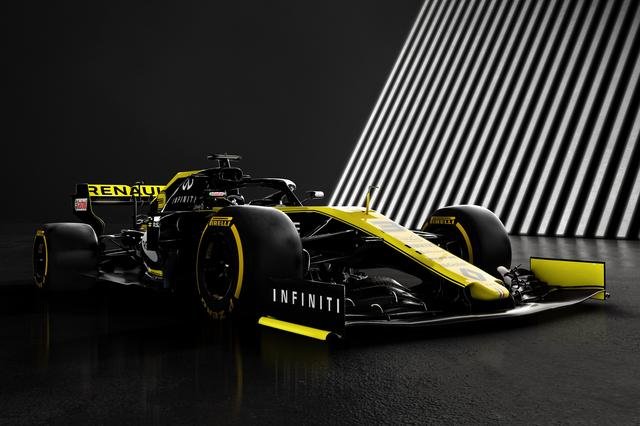 画像: 2019年用F1マシン、ルノーR.S.19。