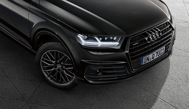 画像: シングルフレームグリル、ホイールなどフロントまわりをブラックで統一。マトリクスLEDヘッドライトがボディカラーに映える。